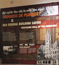 Federal Building Exhibit